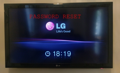 TV LG Reset Password | Talamonti Alessio